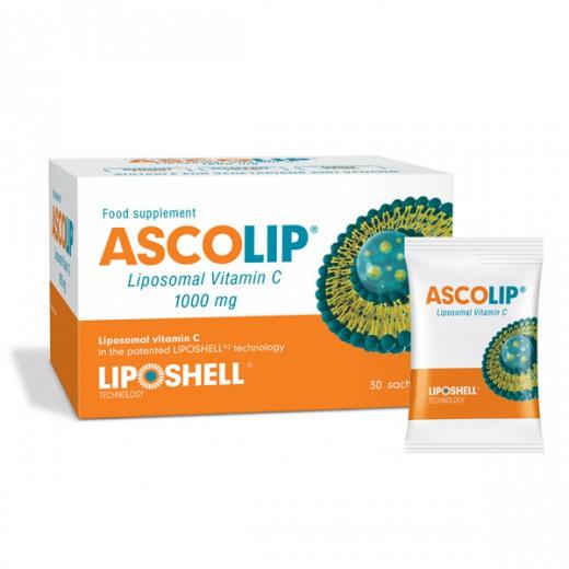 ASCOLIP® liposomski vitamin C 1000 mg, 30 vrečic