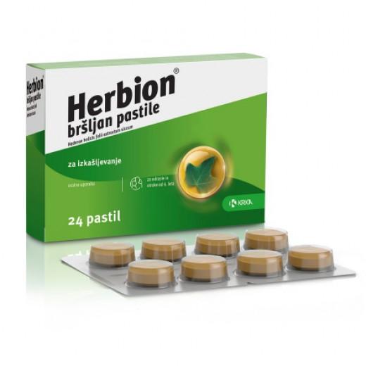 Herbion Bršljan pastile (24 pastil)