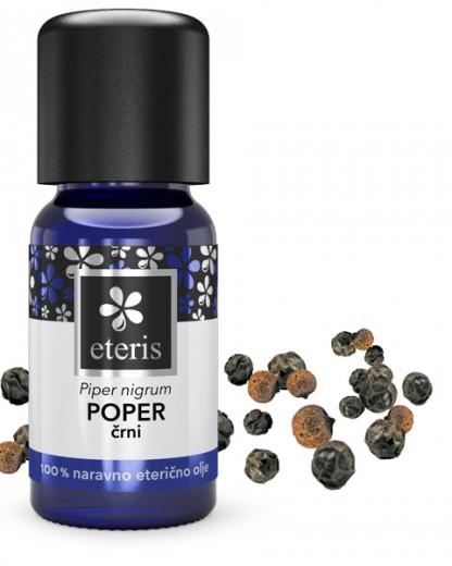 Poper (črni), eterično olje Eteris, 10 ml