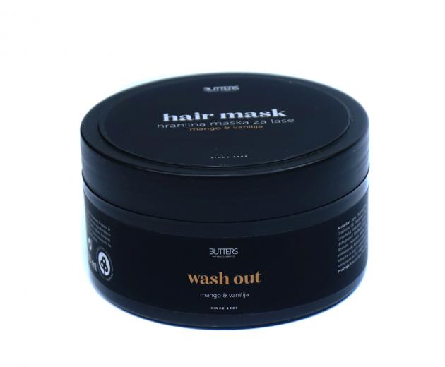Butters Maska za lase z mangom & vanilijo, 250 ml