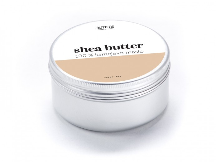 Butters Shea Butter - nerafinirano karitejevo maslo, 100 ml
