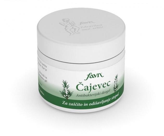 Čajevec, antibakterijski deogel Favn, 50 ml
