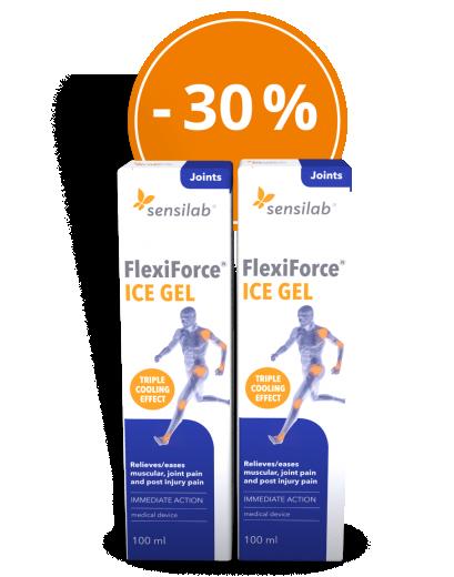 FlexiForce gel, AKCIJSKO dvojno pakiranje -30%, 2x100 ml, Sensilab