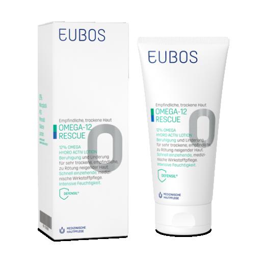 EUBOS OMEGA-12 RESCUE HYDRO ACTIV LOSIJON 200ML