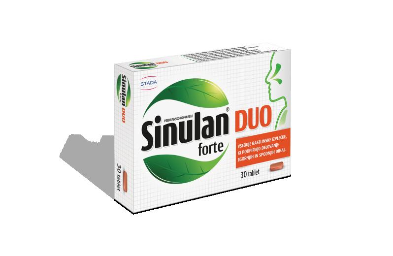 Sinulan DUO forte, 30 tablet