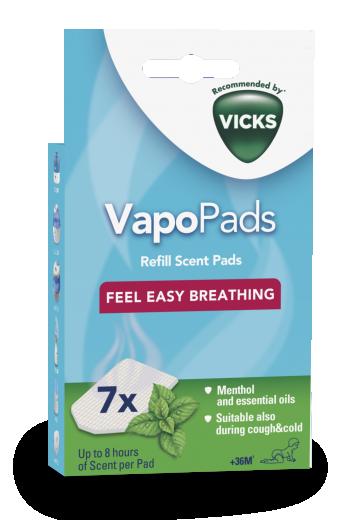VICKS VapoPads vložki mentol 7 kom. VH7V1