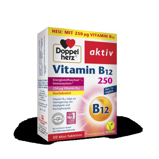Doppelherz Aktiv Vitamin B12, 250 μg
