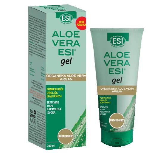 Aloe Vera gel z arganovim oljem - 200 ml