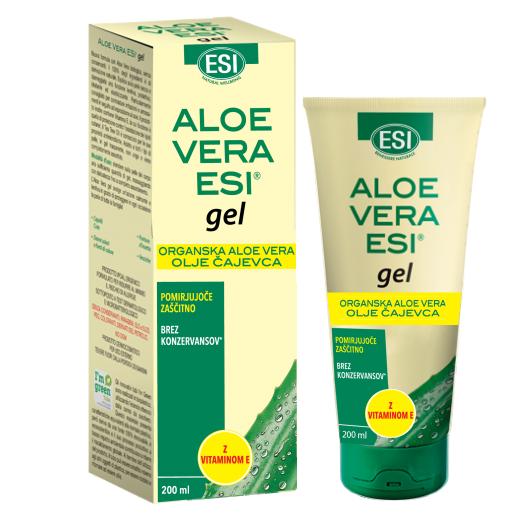 Aloe Vera gel z oljem čajevca in vitaminom E - 200 ml
