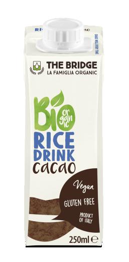Bio rižev napitek s kakavom, 250 ml