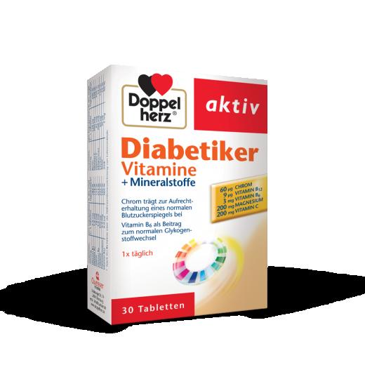 Doppelherz aktiv DIABETIKER vitamini