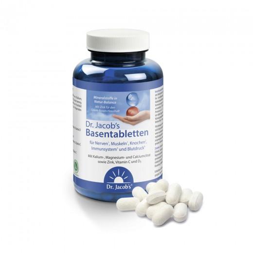 Bazične tablete Dr. Jacobs, 250 tablet