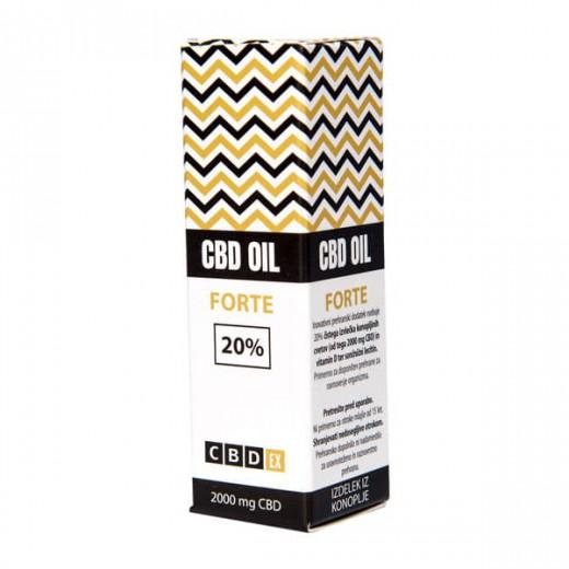 CBDex® FORTE 20%, 10 ml