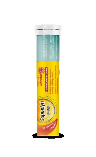 Supradyn IMUNO 500 mg vitamin C