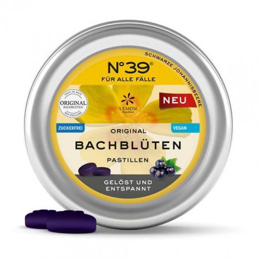 Pastile Dr. Bach stres z okusom črnega ribeza, 50 g