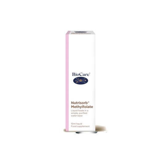 Nutrisorb® tekoči metil folat BioCare, 15 ml