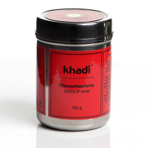 Khadi rastlinska barva za lase Kana & amla, 150g