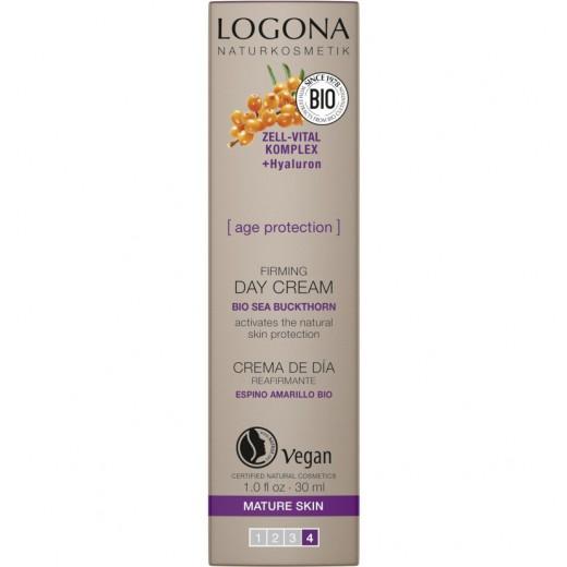 Dnevna krema Age Protection Logona, 30 ml