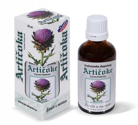 Bio - Pharma, artičoka, tekoči izvleček, 50 ml