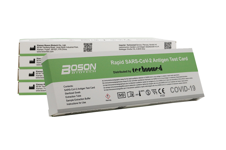 Boson Biotech, hitri antigenski test SARS COVID-19, 5x