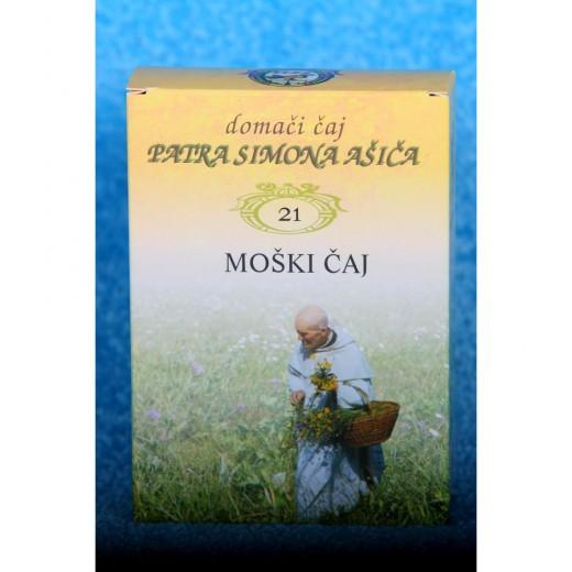 Čajna mešanica MOŠKI ČAJ patra Simona Ašiča (21), 50 g