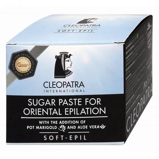 Sladkorna pasta za egipčansko depilacijo soft Cleopatra, 120 g