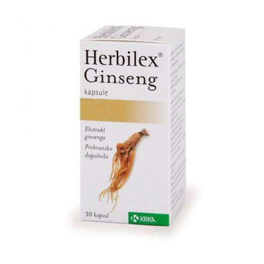 Krka,  Herbilex Ginseng, 30 kapsul