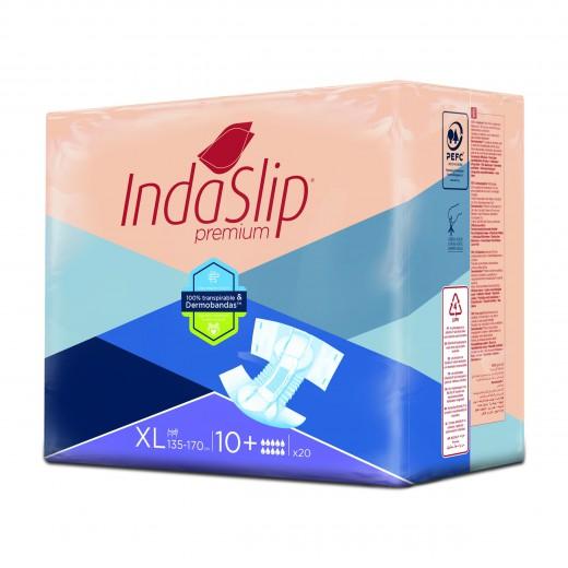 Plenice hlačne Indaslip Premium XL10 Plus - zelo velike, 20 kos/zavitek