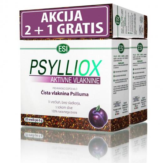 Esi, psylliox aktivne vlaknine, 20 x 6 g AKCIJA 2 + 1