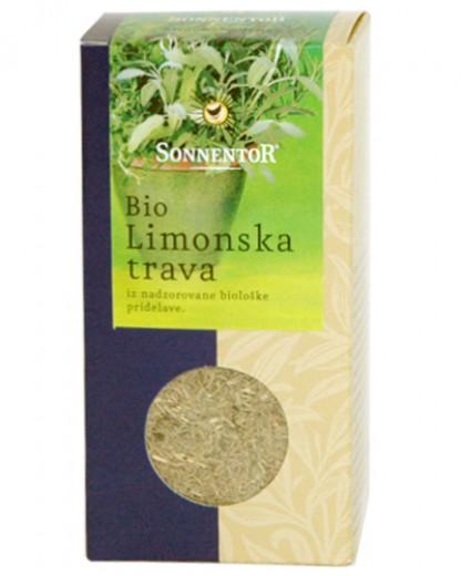Bio začimba Limonska trava Sonnentor, 25 g