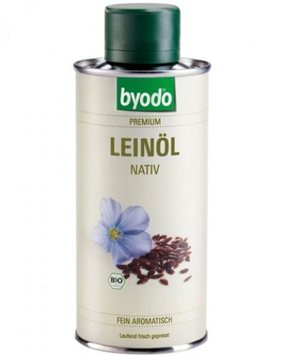 Bio laneno olje Byodo, 250 ml
