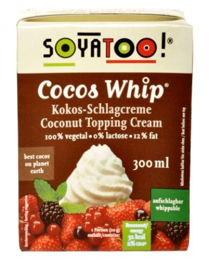 Kokosova krema za stepanje Soyatoo, 300 ml