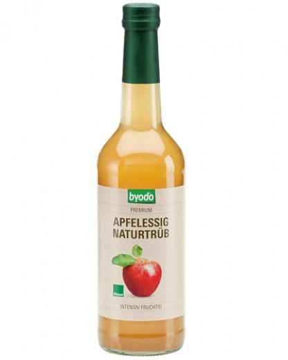 Bio jabolčni, naravno motni kis Byodo, 500 ml