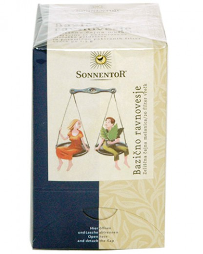 Bio čaj za bazično ravnovesje Sonnentor, 20 g