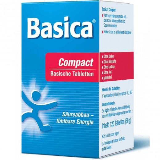 Basica, compact bazične tablete, 120 tablet