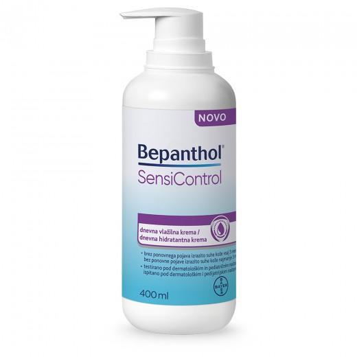 Bepanthol, sensicontrol dnevna vlažilna krema, 400 ml