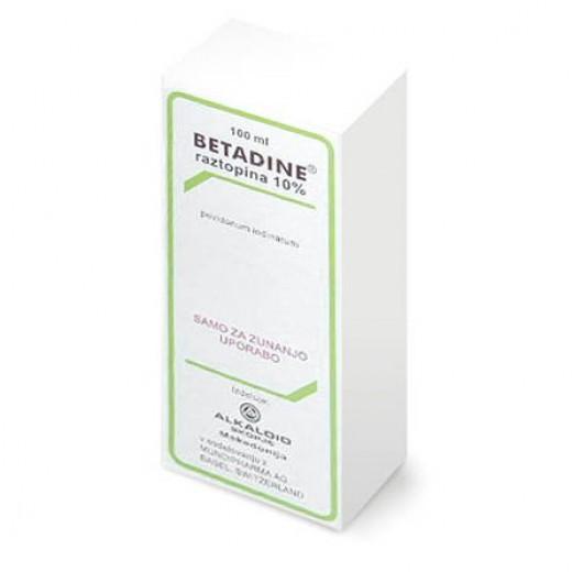 Betadine 100 mg/ml dermalna raztopina, 100 ml