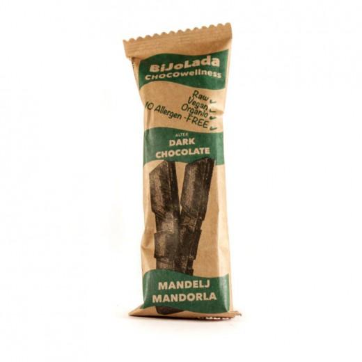 Bio alter čokolada mandelj Bijolada, 40 g