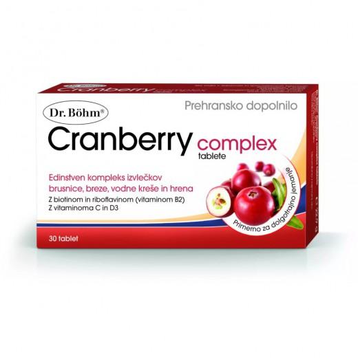 Dr. Böhm, cranberry complex, 30 tablet