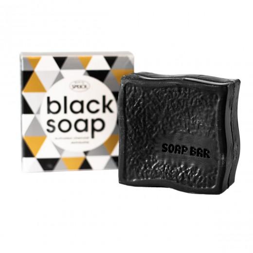 Črno milo ˝Black Soap˝ z aktivnim ogljem Speick, 100 g
