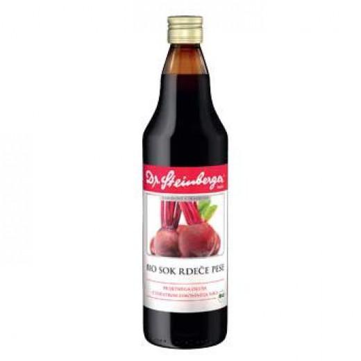 Bio sok rdeče pese Dr. Steinberger, 750 ml