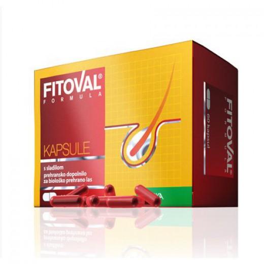 Kapsule Fitoval Formula, 60 kapsul