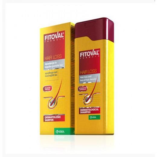 Šampon proti izpadanju las Fitoval, 100 ml