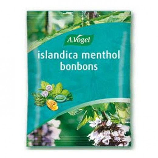 Bonboni Inslandica Methol A. Vogel, 75 g