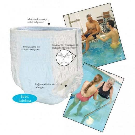 Swimmates plavalne hlačke za enkratno uporabo, velikost M