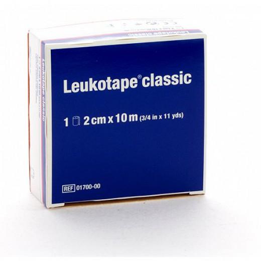 Bandažni trak Leukotape classic 2 cm x 10 m, 1 kos