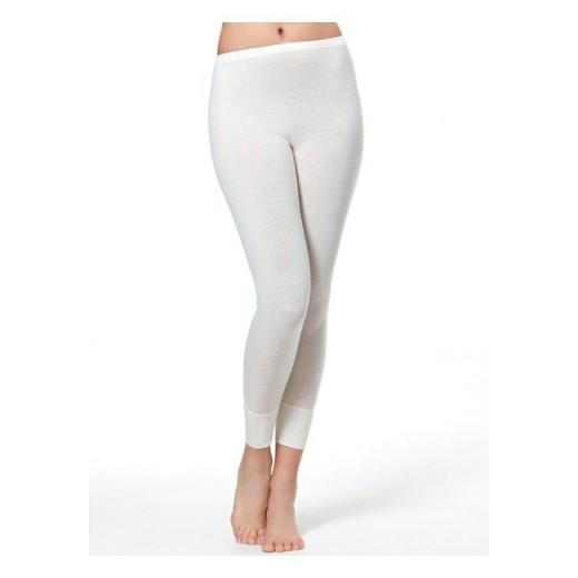 Dolge spodnje hlače unisex Medima 1064 - bele