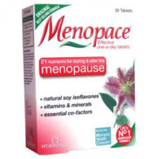 Vitabiotics, menopace, kapsule, 30 kapsul