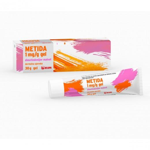 Metida 1 mg/g gel, 30 g