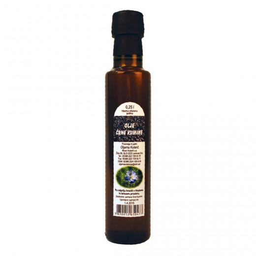 Hladno stiskano olje črne kumine Kolarič, 250 ml